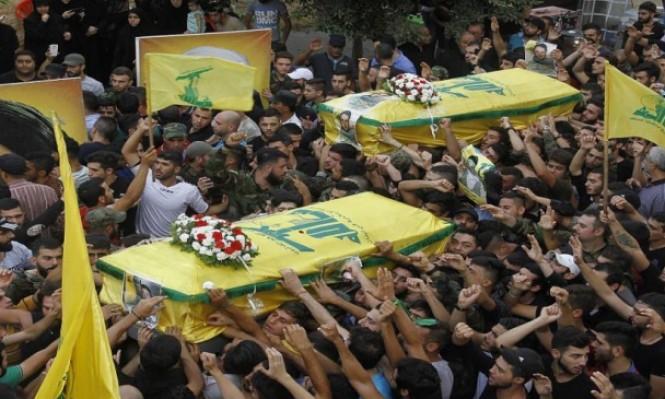 """8 قتلى من حزب الله بغارة """"مجهولة"""" بسورية"""