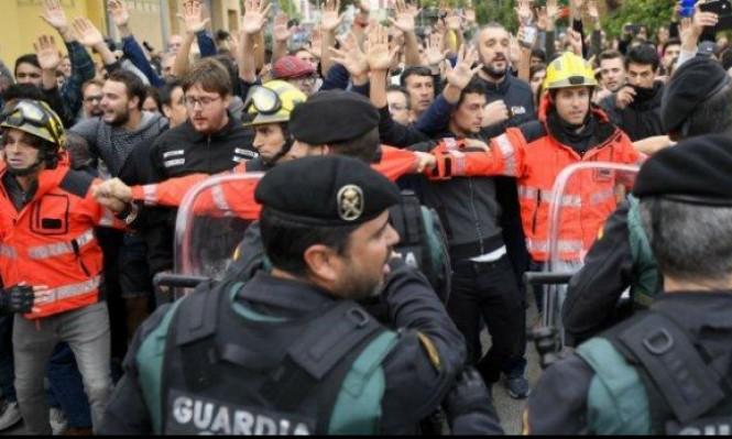استفتاء كاتالونيا: 90% يصوتون مع الاستقلال