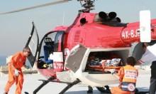إصابة خطيرة لعامل سقط عن علو في الجليل