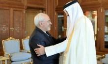 أمير قطر يستقبل وزير الخارجية الإيراني