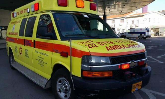 3 إصابات إحداها حرجة في حادث طرق قرب المقيبلة