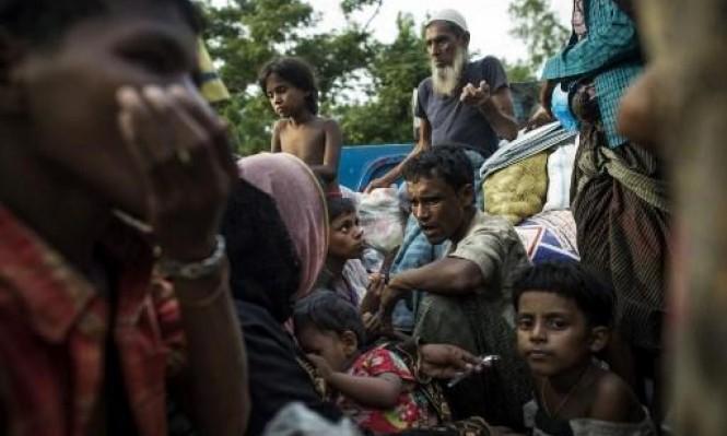 حركة نزوح الروهينغا تعود بكثافة إلى بنغلادش