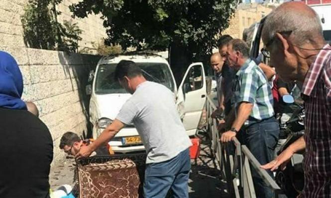 القدس: مصرع مسنة دهسا في وادي الجوز