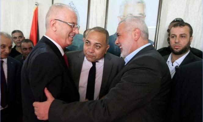الحكومة الفلسطينية تربط استلام مهامها بغزة بنتائج المصالحة