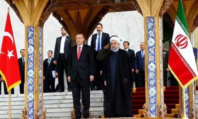 إردوغان وروحاني يجددان رفض بلديهما استفتاء كردستان