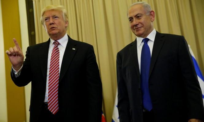 ترامب: نتنياهو يشكل عثرة بطريق أي تسوية مع الفلسطينيين