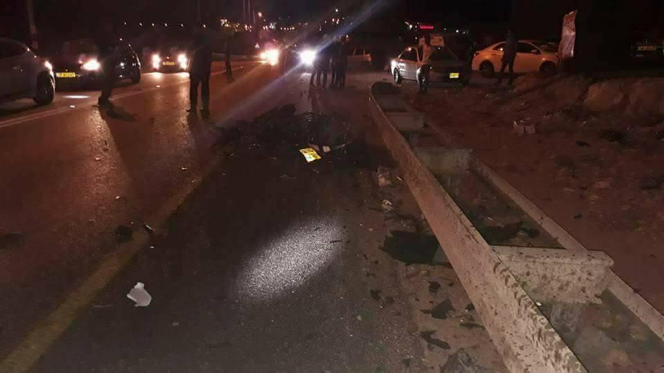 أبو سنان: مصرع شاب في حادث طرق قرب يركا
