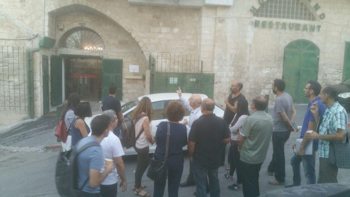 الناصرة: انطلاق دورة ترميم المباني التاريخية وإدارة التراث