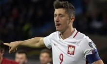 ليفاندوفسكي يضع بولندا على مشارف التأهل لكأس العالم