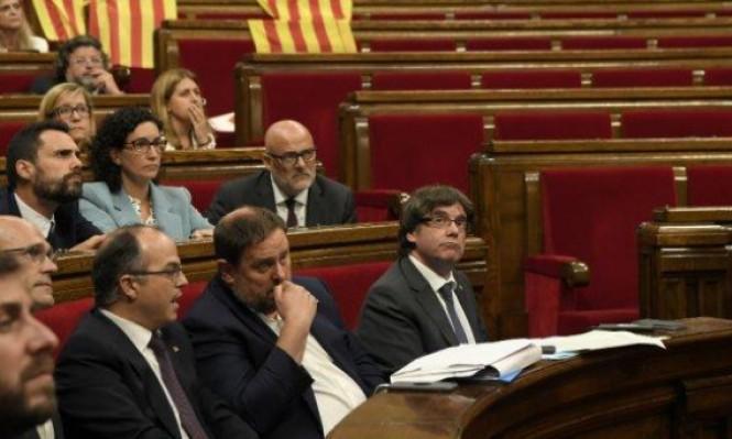 القضاء يعلق جلسة البرلمان الكاتالوني الاثنين المقبل حول الاستقلال