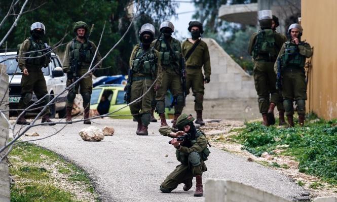 إصابة فتى فلسطيني بنيران الاحتلال شرق جنين