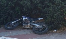 قرية الرمانة: إصابة بالغة لشاب إثر حادث دراجة نارية