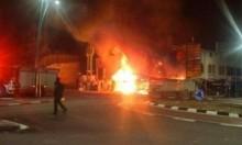 وادي سلامة: حريق في شاحنة وسيارة
