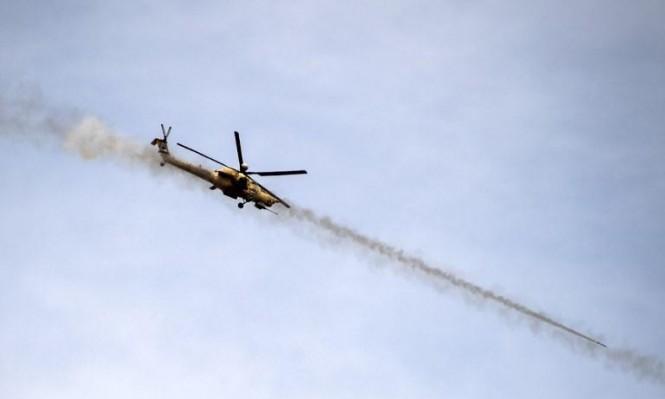 سورية: هبوط مروحية عسكرية روسية اضطراريا
