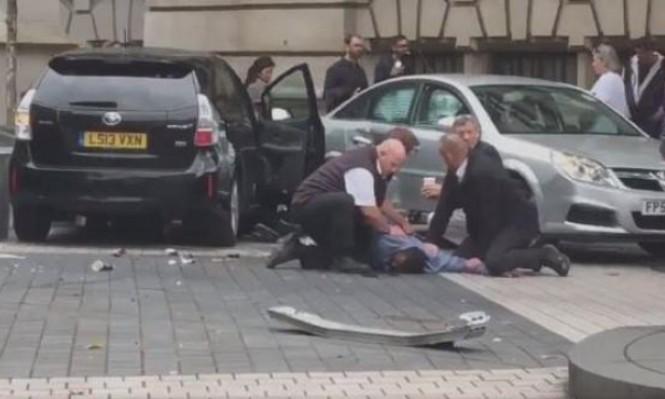 """شرطة لندن تستبعد """"العمل الإرهابي"""" في حادثة الدهس"""