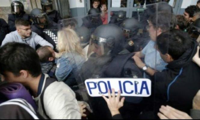 أزمة كاتالونيا: متظاهرون إسبان يستعدون للنزوع للشوارع