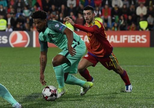 البرتغال تفوز على أندورا بهدفين نظيفين