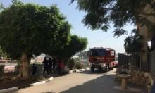 طمرة: حريق قرب مدرسة