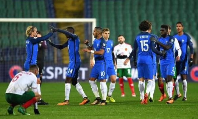 فرنسا تهزم بلغاريا وتقترب من التأهل للمونديال