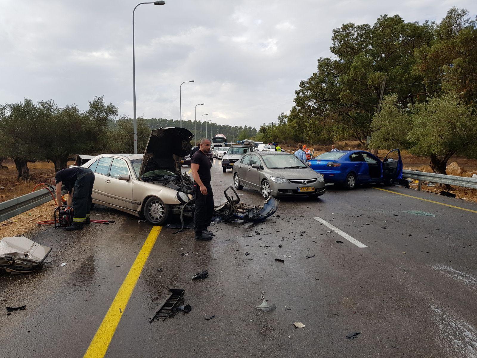 إصابتان خطيرتان في حادث طرق بمدخل شعب