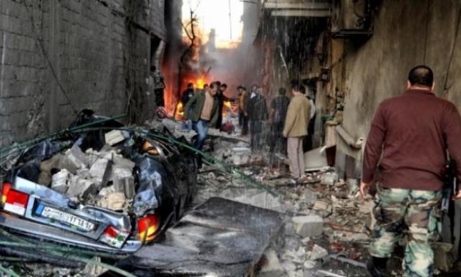 استشهاد 24 لاجئا فلسطينيا جراء قصف اليرموك بأيلول