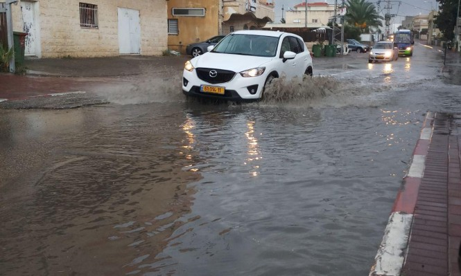 حالة الطقس: أمطار متفرقة في أنحاء البلاد