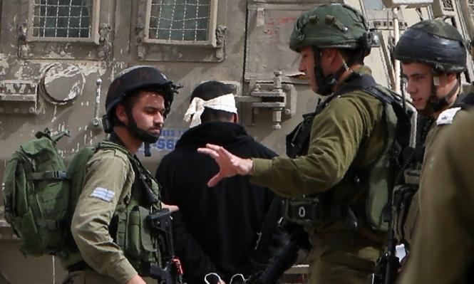 الاحتلال يعتقل 16 فلسطينيا ويصادر أسلحة بالضفة