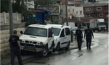 كفر قاسم: العثور على سيارة محروقة إثر إطلاق النار على شاب