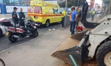 إصابة خطيرة لعامل في ورشة بوسط البلاد