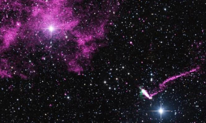 اكتشاف نجمين نابضين يدوران بسرعة فائقة