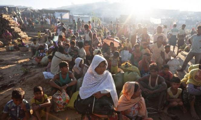 بدء حملة تطعيمات ضد الكوليرا في مخيمات اللاجئين من الروهينغا