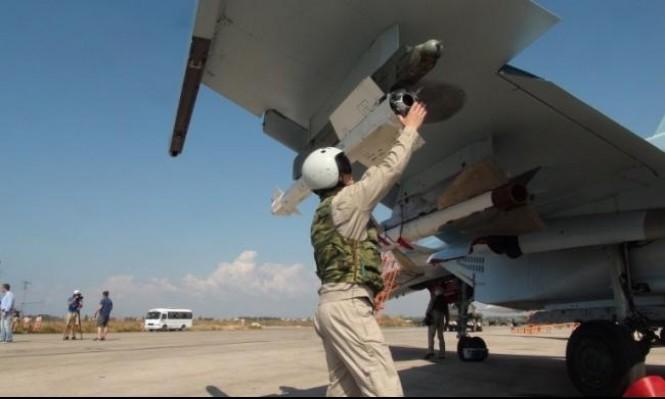 تحطم مقاتلة روسية في سورية