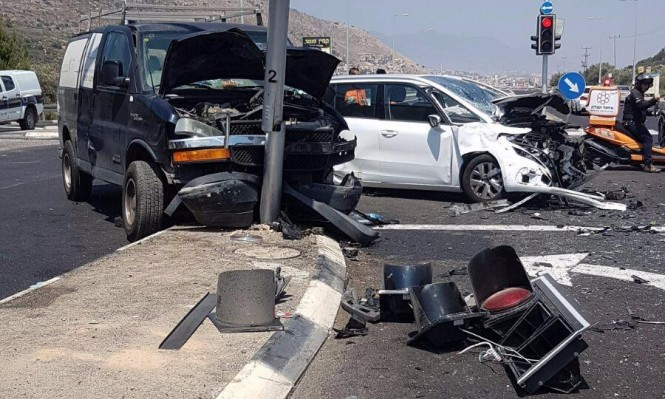 7 إصابات في حادث طرق قرب مجد الكروم