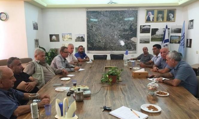 استعدادا للشتاء: جلسة عمل بين بلدية شفاعمرو واتحاد المياه