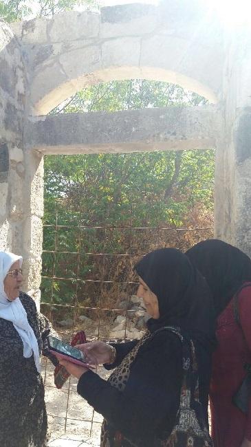 """جولة لمشاركات مشروع """"نساء على درب العودة"""" في حطين"""