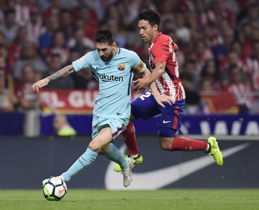أتلتيكو مدريد يوقف انتصارات برشلونة بالدوري