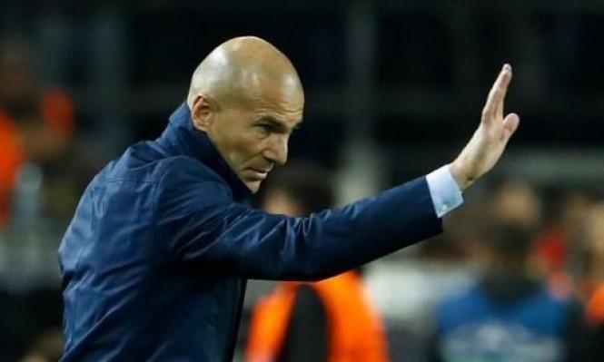 ماذا قال زيدان عن إمكانية تدريب برشلونة؟