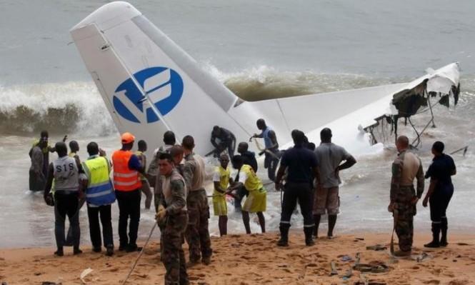 مقتل أربعة أشخاص بتحطم طائرة شحن للجيش الفرنسي