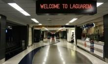 """""""مزحة"""" تخلي مطار لاغوارديا في نيويورك"""