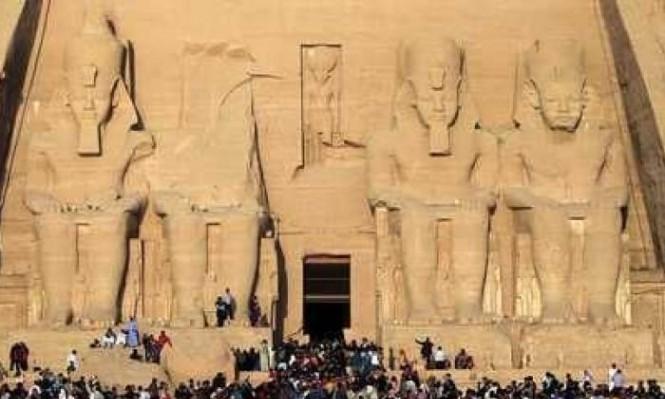 اكتشاف بقايا معبد للملك رمسيس الثاني في الجيزة