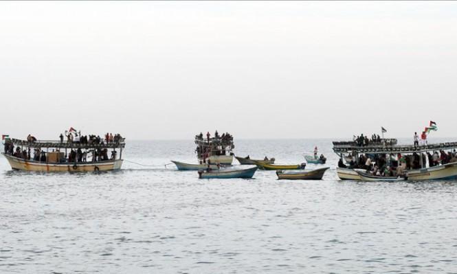 """سلطات الاحتلال توسع مساحة الصيد بغزة """"مؤقتًا"""""""