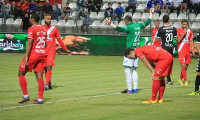 الفريق السخنيني يتعادل سلبيا أمام هـ. كريات شمونة