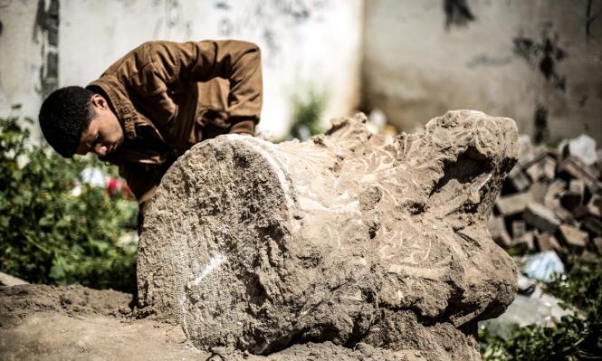 غادر الفرنسيّون: مَنْ ينقذ آثار غزّة؟