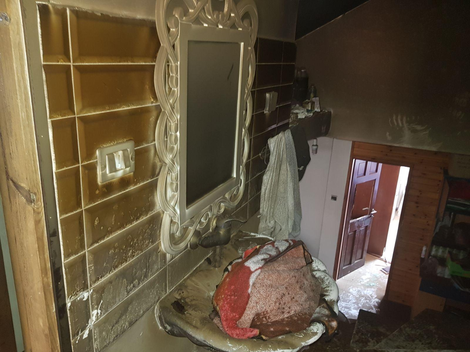 مجد الكروم: حريق في منزل مأهول