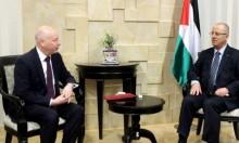 غرينبلات والحمد الله يبحثان المصالحة الفلسطينية