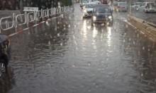 68 ملم من الأمطار تسقط خلال ساعتين في نهاريا