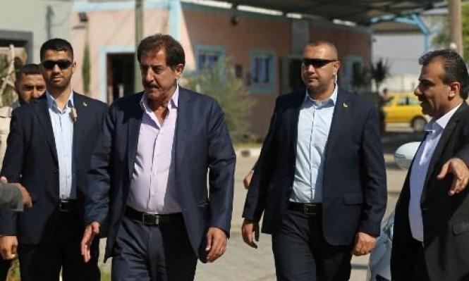 وصول مسؤول السلطة الفلسطينية لغزة لتسلم إدارة المعابر