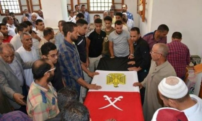 مقتل 6 جنود مصريين و24 مسلحا باشتباك بسيناء