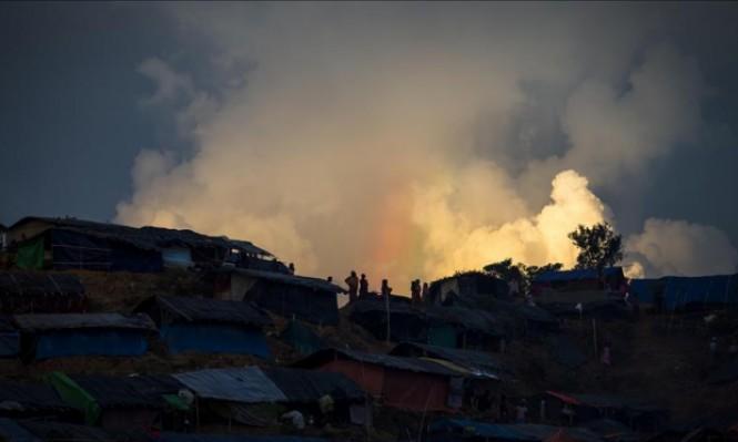 أقمار صناعية تكشف حرق 288 قرية للروهينغا