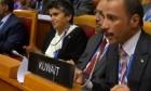 رئيس البرلمان الكويتي يهاجم الوفد الإسرائيلي في مؤتمر البرلمان الدولي